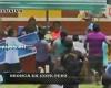 Invasión de campo y múltiples agresiones en la Copa Perú