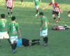 Salvaje puñetazo a un árbitro en el fútbol argentino