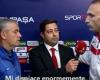 Un árbitro turco pide disculpas en directo a un entrenador