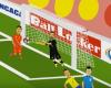 El gol de Perú a Brasil con un poco de humor