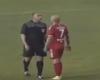 Un inexistente penalti acaba con un árbitro serbio detenido