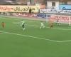 Un sustituto evitó un gol con la cabeza en Irán