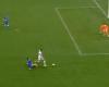 Un penalti que pitó el árbitro y acabo en saque de meta