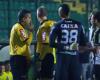 El gol del Santos anulado con un minuto de retraso