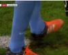 Destroza el césped para que el delantero falle el penalti