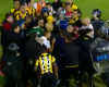 Dos goles anulados en el añadido y lío total en el Huracán-Peñarol