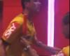 El calentón del árbitro en el vestuario después de un partido polémico