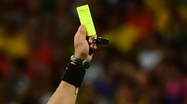 La FIFA niega que diese órdenes para sacar menos tarjetas