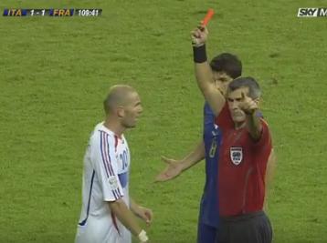 ¿Hubo error técnico en la expulsión de Zidane por su famoso cabezazo?