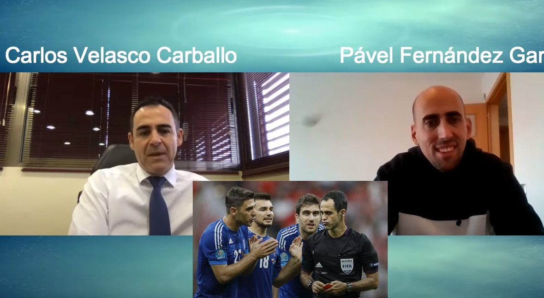 """Velasco Carballo: """"El fútbol le debe al arbitraje español una final de un Mundia"""