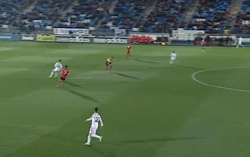 Ocasión manifiesta de gol y control del balón