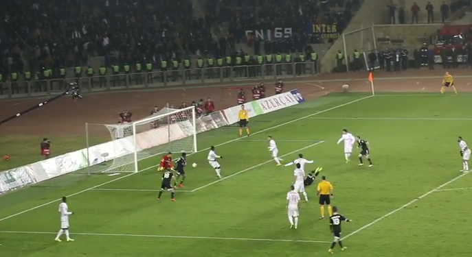 ¿Por qué anuló el asistente el gol del clasificación del modesto Qarabag?