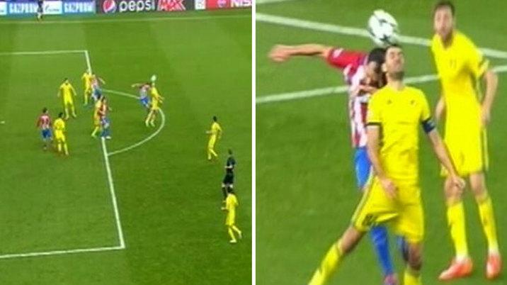 El gol del Atlético, un ejemplo de solución rápida y correcta